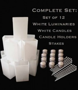 Luminaries, Candles, Holders and Stakes