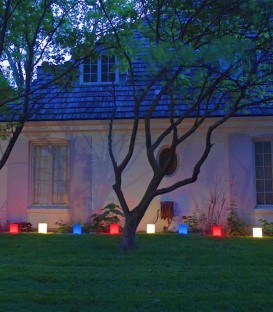 Blue Luminaries in our Patriotic Luminary Set