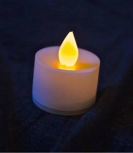 Amber LED Tea Light