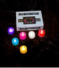 6 Color-Changing LED Tea Lights