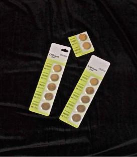 Set of 12 Batteries for Tea Lights