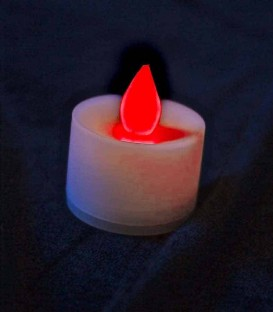 Individual Color-Changing LED Tealight