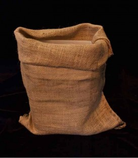 Set of 12 Loose Burlap Bags