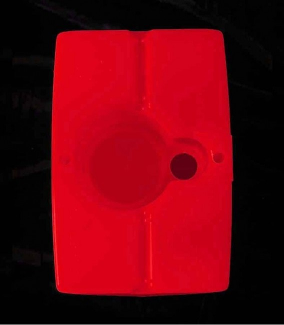 View of Red Luminary bottom