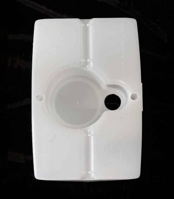 View of White Luminary bottom