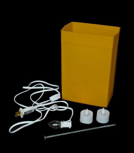 Brown Luminary Kit