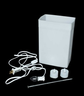 White Luminary Kit
